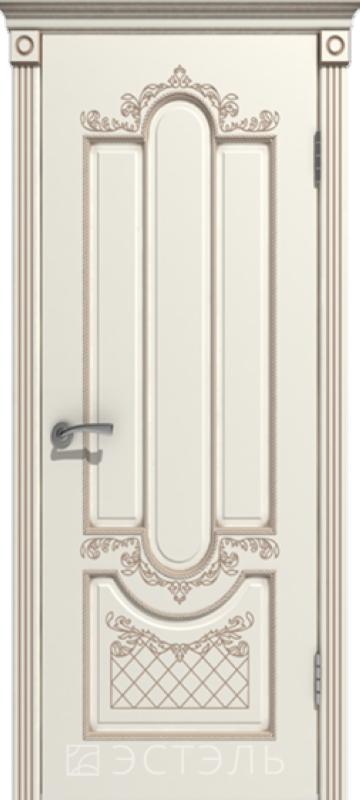 Белый с патиной слоновая кость