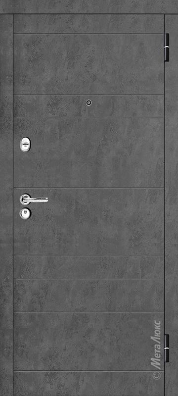 Серый бетон и Белая шагрень