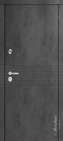 Тёмный бетон и Белый